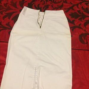 Skirts - White high waist skirt